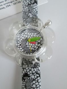 FLOWERS PIN UP FANCY , WATCH by REMY HADDAD PARIS