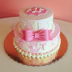 Pink Baby Shower Cake / 2tarts Bakery / New Braunfels, TX / www.2tarts.com Baby Shower Cupcakes, Shower Cakes, Children's Toys, Kids Toys, Tart Bakery, Baby Nappy Cakes, Pink Chandelier, Birthday Ideas, Birthday Cake