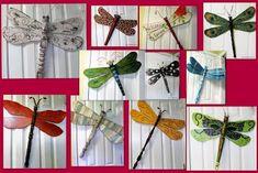 47 Ideas yard art butterfly dragon flies for 2019 Fan Blade Dragonfly, Dragonfly Yard Art, Garden Yard Ideas, Garden Crafts, Garden Art, Fan Blade Art, Ceiling Fan Blades, Ceiling Fans, Dragon Fly Craft
