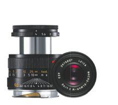 Macro Lens: #LEICA MACRO-ELMAR-M 90 mm f/4