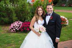 Carlyle Bride and Groom smiling