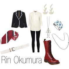 """""""Rin Okumura"""" by ja-vy on Polyvore"""