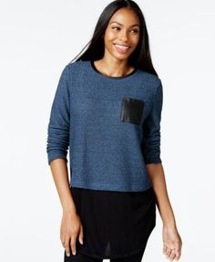 Style & Co. Layered-Look Top, Only at Macy's