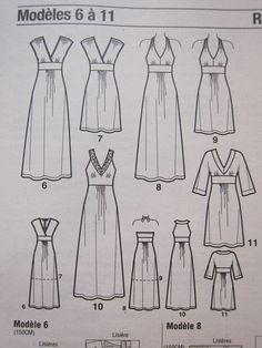 8cc4542eb86 patron gratuit robe empire femme free boss dress empire woman The little  dress – boss dress woman – AmandineThe FOLK – boss dress woman – Vanessa ...