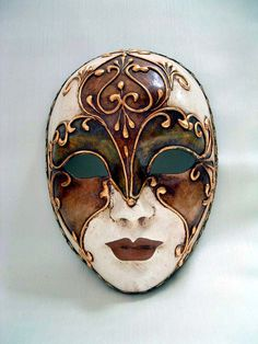 handmade venetian liberty venice volto masks italy roma from 1001 3 Volto Roma Liberty Handmade Venetian Masks from Venice Italy 1001 Venetian MasksYou can find Venetian masks and more on our website Venetian Carnival Masks, Venetian Masquerade, Venitian Mask, Mens Masquerade Mask, Masquerade Ball, Ceramic Mask, Venice Mask, Mask Drawing, Beautiful Mask