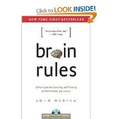 In Brain Rules, Dr. John Medina, a molecular biologist, shares his lifelong interest in how the brain sciences might influence the way we teach our children and the way we work. In each chapter, he describes a brain rule - what scientists know for sure about how our brains work - and then offers transformative ideas for our daily lives. Medina's fascinating stories and sense of humour breathe life into brain science.