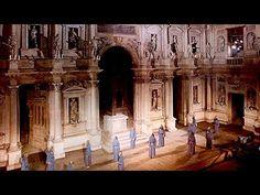 History of Theatre 5 - The Illusion Illustrated, Teatro Olimpico, Vicenza and Sabbioneta (Eng. Esp.) - YouTube
