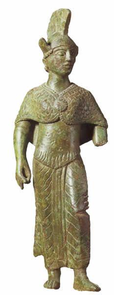 Menerva, Museo di Villa Giulia Roma | Menrva (also spelled Menerva) was an Etruscan goddess of war, art, wisdom and health. She contributed much of her character to Roman Minerva.