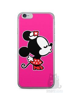 Capa Iphone 6/S Mickey e Minnie Beijo - SmartCases - Acessórios para celulares e tablets :)