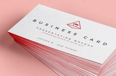 This is a free psd business card mockup to let you display your next business card design. You can set the...