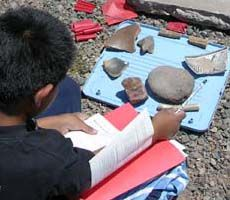 National Park Service - Archeology for Kids. Great site with a lot of information and activity ideas.