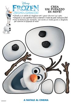 Olaf From Disney's Frozen | Tanti giochi in arrivo da Frozen - Il Regno di Ghiaccio - Al cinema ...