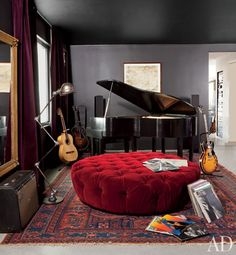 I need a music room in my house like this!