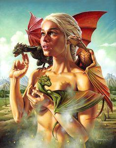 khaleesi dragons - Google Search