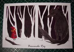 Red Riding Hood - Brothers Grimm on Behance