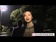 131231 [OBS] KBS Drama Award - Moon Chae Won interview