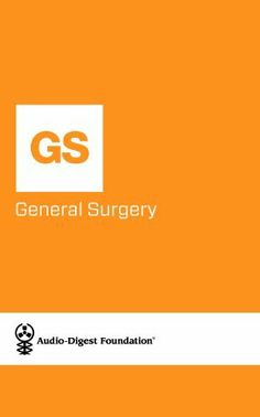 General Surgery: TRAUMA TIME: PART I (Audio-Digest Foundation General Surgery Continuing Medical Education (CME).) by Audio Digest. $0.99. 18 pages