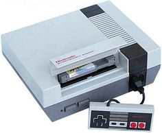 Nintendo NES Game System with Super Mario Bros. Old Nintendo, Original Nintendo, School Memories, Childhood Memories, Childhood Toys, Claudia Rodriguez, Nostalgia, Nes Games, Entertainment System