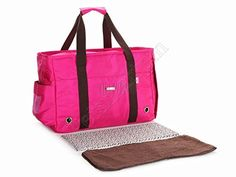Petsmartpm 140MED Rose Red Nylon Dog Carrier Purse Pet Carrier Bag Cat Tote Bag Puppy Handbag Doggy Cage * Read more reviews of the product by visiting the link on the image.