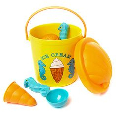 Best Beach and Sand Toys for Kids This Summer: Speck Seahorse Sand Ice Cream Set (via Parents.com)