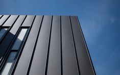 our initial thought for the cladding was this new matte colourbond stuff but too expensive - want to get that same raised vertical line feel