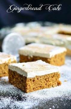 Gingerbread Cake   from willcookforsmiles.com