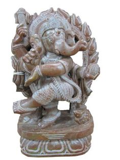 Dancing Ganesha Spiritual Statue Good Luck Lord Ganesha Stone Sculpture 8 Inches by Mogul Interior, http://www.amazon.com/dp/B00CPL2RK8/ref=cm_sw_r_pi_dp_c0fJrb0AKR7D4