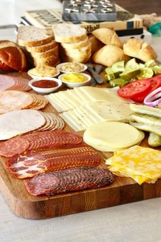 The Ultimate Build-Your-Own Sandwich Board Meat Appetizers Appetizers Meat Appetizers Appetizers Appetizers keto Appetizers parties Appetizers recipes Sandwich Platter, Sandwich Bar, Meat Platter, Tea Sandwiches, Meat Appetizers, Appetizers For Party, Appetizer Recipes, Party Food Platters, Cheese Platters