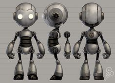Robot Model Sheet Attached images