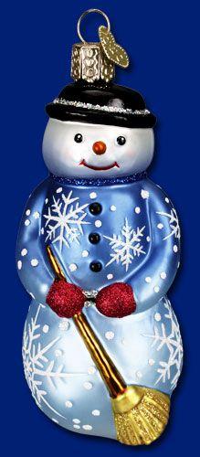 55 Snowmen Snowwomen Ideas Old World Christmas Ornaments Glass Ornaments