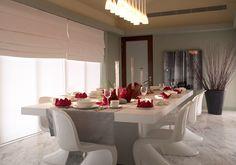 Modern elegant dining room. www.PrestigePaints.com