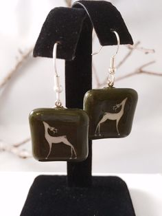 A personal favorite from my Etsy shop https://www.etsy.com/listing/259979434/reindeer-earrings