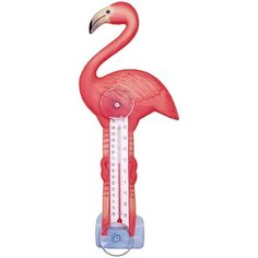 Flamingo Thermometer - Might get this for my office!