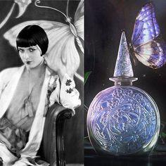 Parfums Volnay since 1919 #Lalique #perfumebottle #artdeco #heritage #revival…