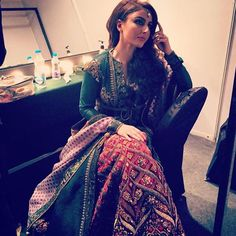 """Soha Ali Khan wearing JJ Valaya ✨"""