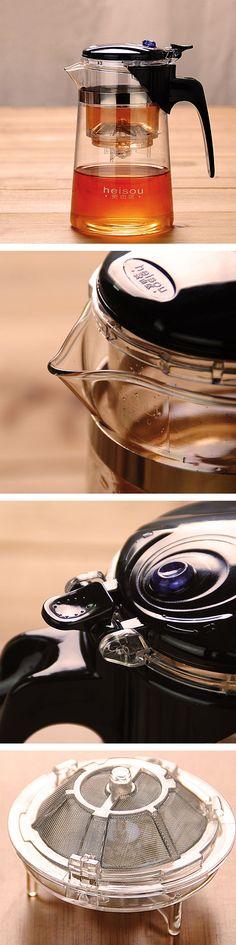 Glass filter teapot tea!