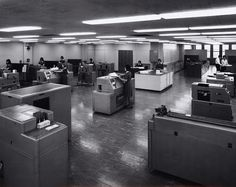 Photograph - Kodak Australasia Pty Ltd, Data Processing Equipment Room, Building…