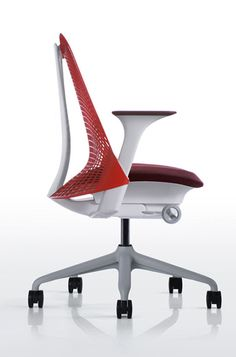 Modern Innovative Office Chairs Design With Red Back Rest Ideas Http Lanewstalk