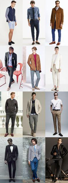 Men's Tassel Loafers Outfit Inspiration Lookbook