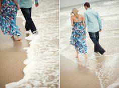 Huntington Beach engagement shoot
