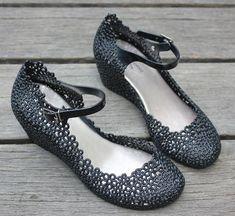 Cheap 2012 verano caliente venta de tacón alto cuñas jalea zapatos de plástico sandalias recorte nido de pájaro reticularis femeninas sandalias botas de agua, Compro Calidad Sandalias directamente de los surtidores de China:  Detalles del producto