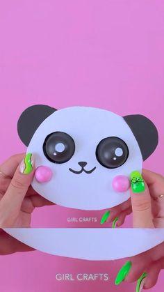 Diy Crafts For Girls, Diy Crafts To Do, Diy Crafts Hacks, Diy Arts And Crafts, Cute Crafts, Diy For Kids, Pinterest Diy Crafts, Cool Fidget Toys, 5 Minute Crafts Videos