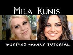 Mila Kunis inspired makeup tutorial - beautyflamenatasja.nl #beauty #blog #blogger #beautyblogger #beautyflamenatasja #blogpost #content #artikel #milakunis #look #tutorial #makeup