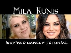 Mila Kunis inspired makeup tutorial - beautyflamenatasja.nl #beauty #blog #blogger #beautyblogger #beautyflamenatasja #blogpost #content #artikel #milakunis #look #tutorial #makeup