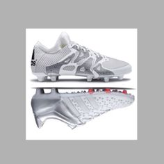 New Adidas Ace & X  Silver and White