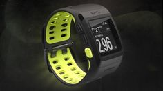 Nike running enters the GPS watch race with the new Nike+ SportWatch GPS powered by TomTom. Running Watch, Nike Running, Sport Watches, Watches For Men, Nike Watch, Waterproof Fitness Tracker, Mens Gadgets, Elegant Watches, Watch Sale