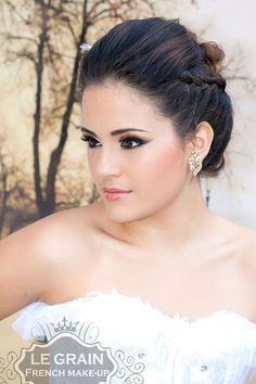 Maquiagem de noiva Bride Maquiagem profissional