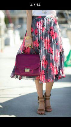 Flora Full skirt