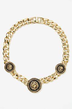 Keep on Lion Metallic Necklace