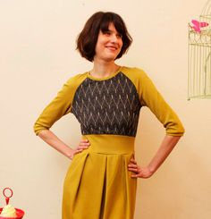 Dress Audrea with tulip skirt от jekyllundkleid, $170.00